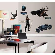 THE DARK KNIGHT RISES.  BATMAN WALL STICKER MULTI PACK 28 DECALS. OFFICIAL ITEM