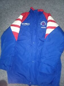 Glasgow Rangers Jacket sponsored by McEwan's lager and Adidas