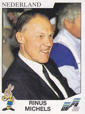 Panini - UEFA Euro 1992 Sweden - Rinus Michels - Holland - # 118
