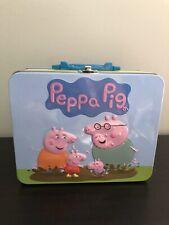 Peppa Pig Metal Lunch Box - Used