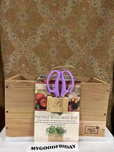 Architec  Harvest Herb Window Box  Beige  Homegrown Gourmet