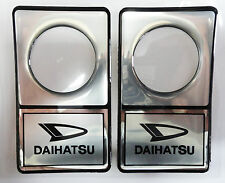 Vintage 80's 90's Automotive Door Lock Scratch Guard Accent Trim DAIHATSU