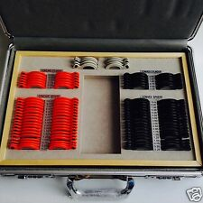 104 pcs Plastic rim trial lens set with Aluminium case Optometry Optical tool