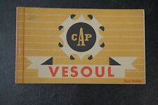 Vintage French Postcard Book Cap Vesoul