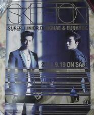 DONGHAE & EUNHYUK SKELETON 2014 Taiwan Promo Poster (Super Junior SJ)