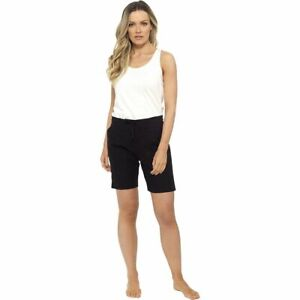 Ladies Casual Linen Shorts with Pockets