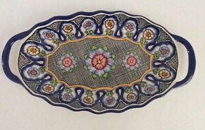 """Pottery Barn Del Sol Melamine Platter ~ 20"""" ~ New with Tags"""