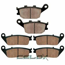 Front Rear Brake Pads For Honda VT1100C2 Shadow 1100 Sabre 2000 2001 2002-2007