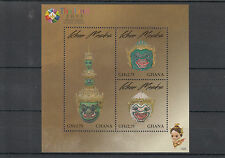 Ghana 2013 MNH Khon Masks 3v M/S Thailand 2013 World Stamp Magnificent Heritage
