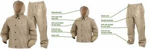 Frogg Toggs Pro Lite Water-Resistant Rain Suit Small/Medium, Khaki