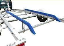Boat Trailer Bunk Skids 1.5 Mtr 45 Degree Bends. Plastic Poly Slides Guides 1500
