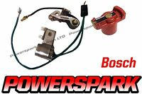 VW Camper Beetle Bug 034 009 Points And Condenser Set Powerspark With Rotor Arm