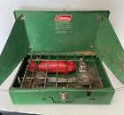 Vintage Coleman Camp Stove 425E 2 burner Untested. Original Box