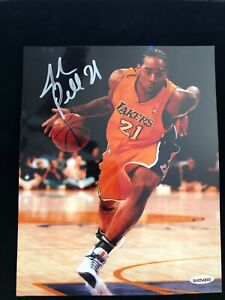 Josh Powell Signed Autographed Photo Upper Deck Authenticated Los Angeles Lakers
