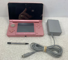 Nintendo 3DS  Edition Pink Handheld System CTR-001 Tested