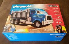 USA PLAYMOBIL City Action Dump Truck Laster LKW Kipper Auto Nr 5662 Neu & OVP