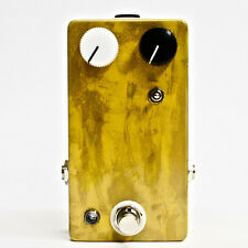CopperSound Mustard Gas True Bypass Fuzz Guitar Effects Pedal Hand Painted