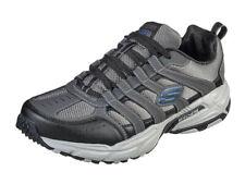 Skechers Mens Memory Foam Stamina Plus Rappel Sneakers, Charcoal