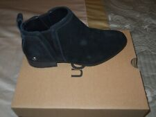 UGG McClaire Ankle Boots Black Women's 6 NIB