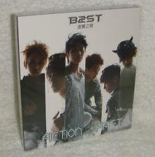 BEAST 1st Korean Album FICTION and FACT Taiwan CD