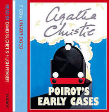 Poirot's Early Cases by Agatha Christie CD-Audio 2005)7 CD AUDIO BOOK NEW SEALED