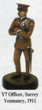 "CHOTA SAHIB 54mm metal kit ""Officer, Surrey Yeomanry, 1911""! VERY RARE!"