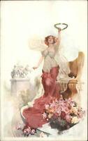 Olympia London International Horse Show Promo Adv 1912 Postcard ART NOUVEAU