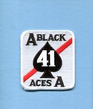 VFA-41 BLACK ACES US NAVY BOEING F-18 HORNET Fighter Squadron Jacket Patch