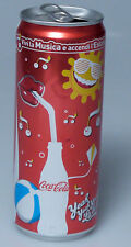 PRL) COCA COLA LATTINA 330 ML MUSICA ESTATE 2010 COLLEZIONE COKE COLLECTION
