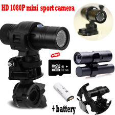 Mini Waterproof Sports Camera Helmet Bike Action DVR Video+Removable Battery+32G
