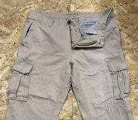 Men's SONOMA Cargo Combat Utility Trouser Pants Beige Size W36 L29