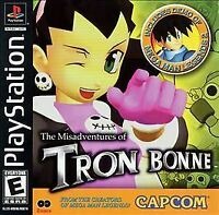 THE MISADVENTURES OF TRON BONNE PS1 PLAYSTATION 1 DISC ONLY