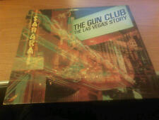 LP THE GUN CLUB THE LAS VEGAS STORY CHR  1477 EX+/M UNPLAYED UK PS 1984 MCZ