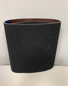 Premium Clarke - American Sanders EZ8 Cloth 8x19 Sanding Belts 24 Grit - 10 Pack