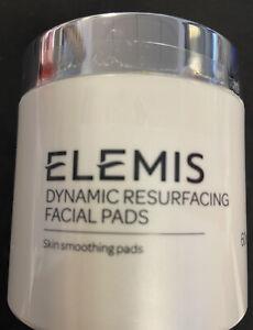 ELEMIS Dynamic Resurfacing Facial Pads Exfoliates, 60 Pads NEW SEALED