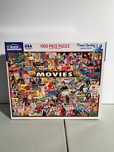 White Mountain 1000 Piece Jigsaw Puzzles (MOVIES) By James Mellett Complete