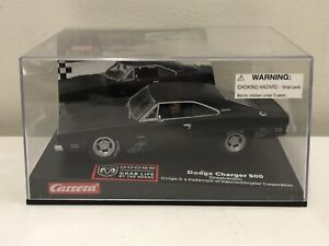 NEW Carrera Evolution; Dodge Charger 500 Street Version 1:32 Slot Car NIB Black
