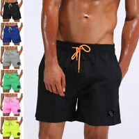 Men's Swimming Board Shorts Swim Shorts Trunks Swimwear Beach Summer Trouser US