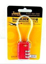 Jasit Mini Travel Lock - 3 Digit - Pink
