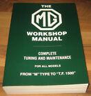 1929-1955 MG Workshop Service Manual_M-to-TF1500_MIDGET SALOON TOURER MAGNA_VGC