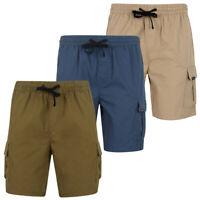 Tokyo Laundry Men's Padua Cargo Shorts Combat Elasticated Waist Size S- XXL