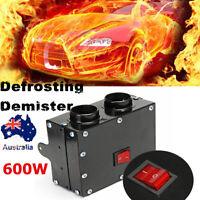 12V 600W Vehicle Car Truck Fan Heater Warm Window Windscreen Defroster Demister