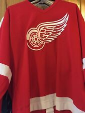 NHL AHL OHL DETROIT RED WINGS RYAN OULAHEN GAME WORN HOCKEY JERSEY