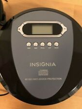 Insignia Ns-P4112 Compact Disc Digital Audio Player w/headphones. Used.