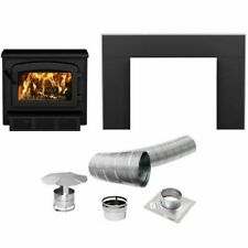 Escape 1800 Wood Stove Insert Trio, Can Fit Logs of up to 20 Inches Long