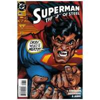 Superman: The Man of Steel #46 in Near Mint + condition. DC comics [*nf]