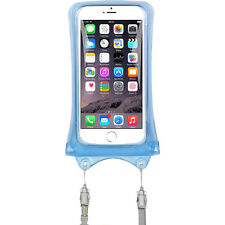 DicaPac WP-C1 Waterproof Case for Smartphones (Blue) WPC1 NEW