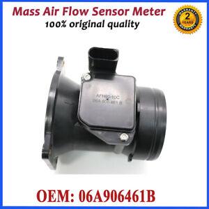 MAF MASS AIR FLOW METER SENSOR 06A906461B For Volkswagen Beetle BORA GOLF PASSAT