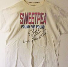 Pernell Whitaker training t-shirt  - hand signed by his 'Hall of Fame' Manager