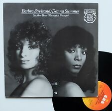"LP maxi Barbra Streisand / Donna Summer  ""No more tears"""